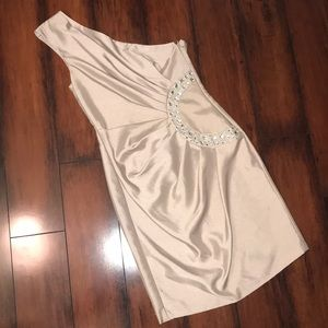 NWOT- London Times One Shoulder Dress